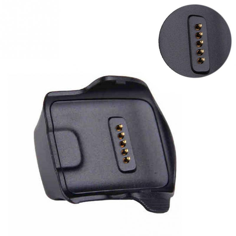 ABS Black Station Watch Charger Cradle USB Dock For Samsung Galaxy Gear Fit R350