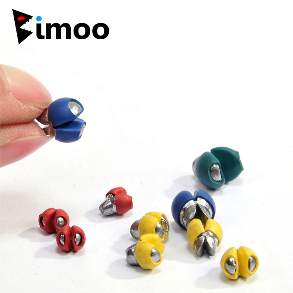 60pcs 0.5g 0.8g 1g 1.5g 2g 2.5g Reusable Split Shot Lead Weight Rubber Coated Splits Sinker Terminal Fishing Tackle Accessories