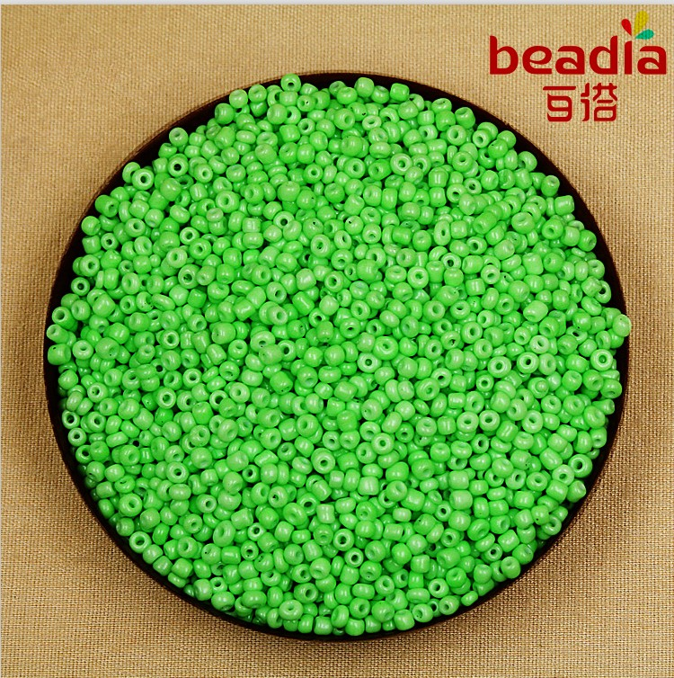 Beads & Jewelry Making Hearty 40g/lot 2mm 3mm Diy Glass Beads Neon Color Seed Beads Loose Spacer Beads For Jewelry Making Wholesale High Quality
