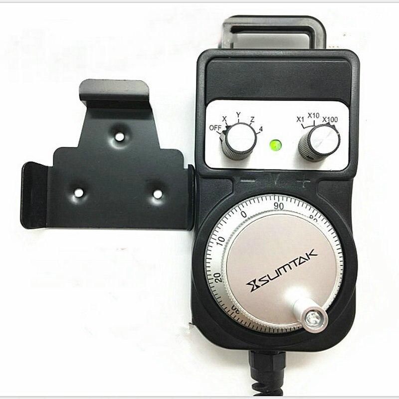 Nieuwe SUMTAK RT067 MK2 T hand wiel 4 as 100ppr MPG Manual Pulsgenerator IP65