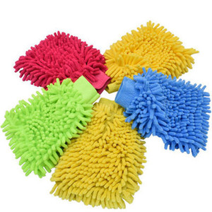 Image 1 - Microfibra pulizia Auto argilla BarCar dettaglio ciniglia guanto guanto Ultrafine microfibra famiglia cura automatica panno di lavaggio confezione da 5 pezzi
