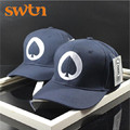 2016 Mens Fashion Poker Spade A Baseball Cap Cotton Causal Adjustable Snapback hat For Men Summer Womens Gorros Cap