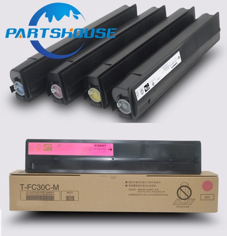 1pcs t fc30 novo cartucho de toner compativel para toshiba e 2050c 2051c 2550c 1 2551c