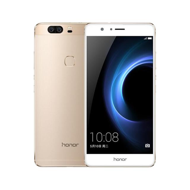 Original Huawei Honor V8 4GB RAM 32GB ROM LTE 5.7 inch Mobile Phone Android 6.0 Kirin 950 Octa Core Dual Rear 12.0MP Camera