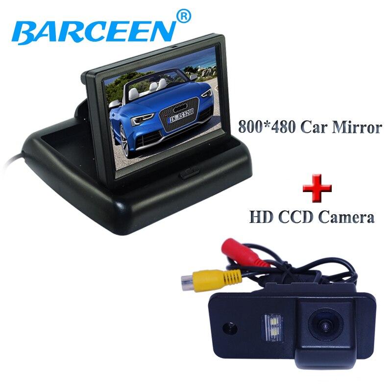 Ampire Caméra De Recul Moniteur Set VW t6 avec hayon