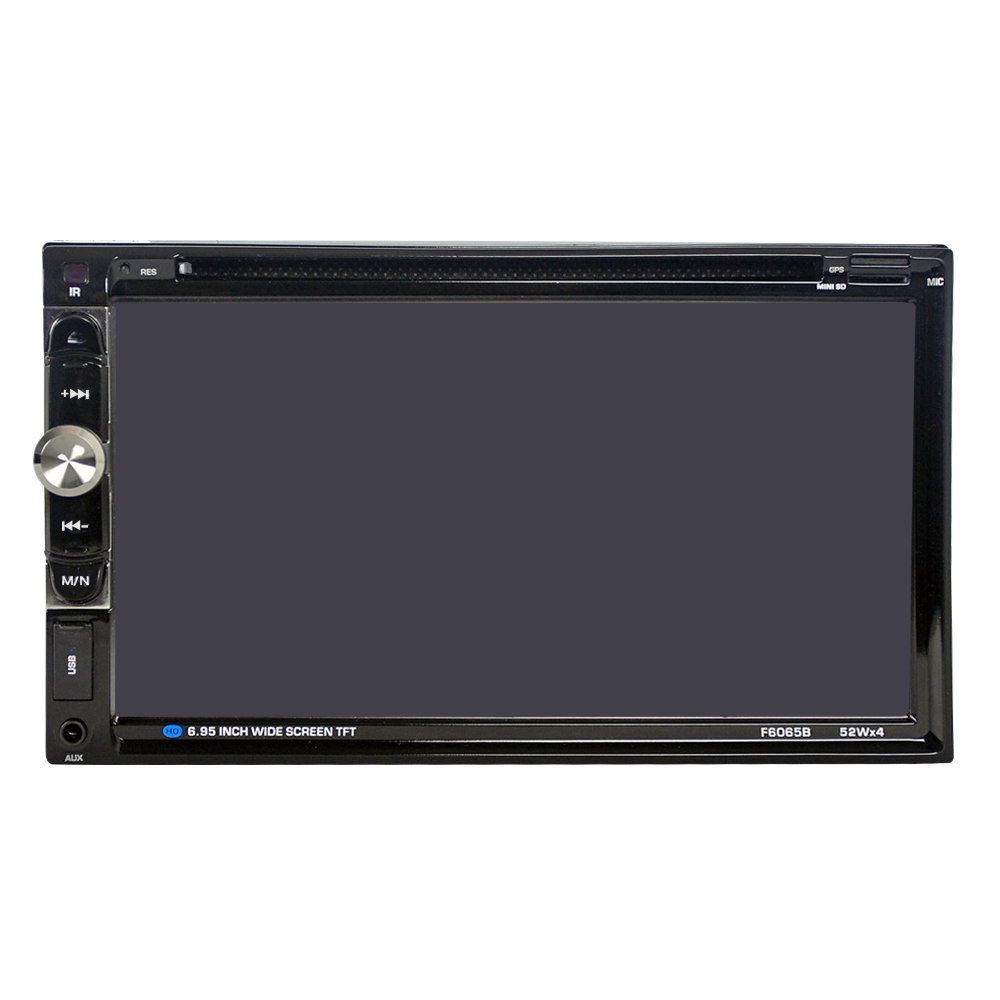 """Image 2 - 6065B Universal 2 Din Car DVD player 6.95"""" Car Autoradio Video/Multimedia MP5 Player mp4 Car Stereo audio player car DVD-in Car CD Player from Automobiles & Motorcycles"""
