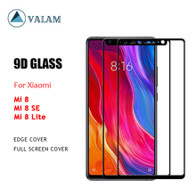 VALAM Tempered Glass Screen Protector For Xiaomi Mi 8 9H Hardness SE  Full Cover lite