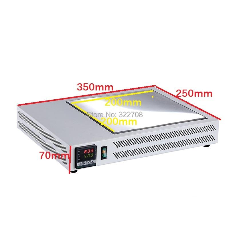 HT-X2020 Tabella di riscaldamento temperatura costante del pacchetto - Attrezzatura per saldare - Fotografia 2
