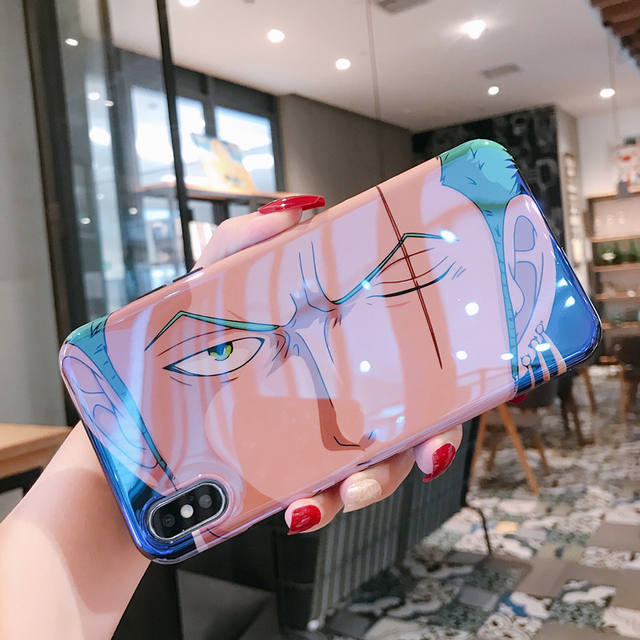 ONE PIECE GLOSSY IPHONE CASE (4 VARIAN)
