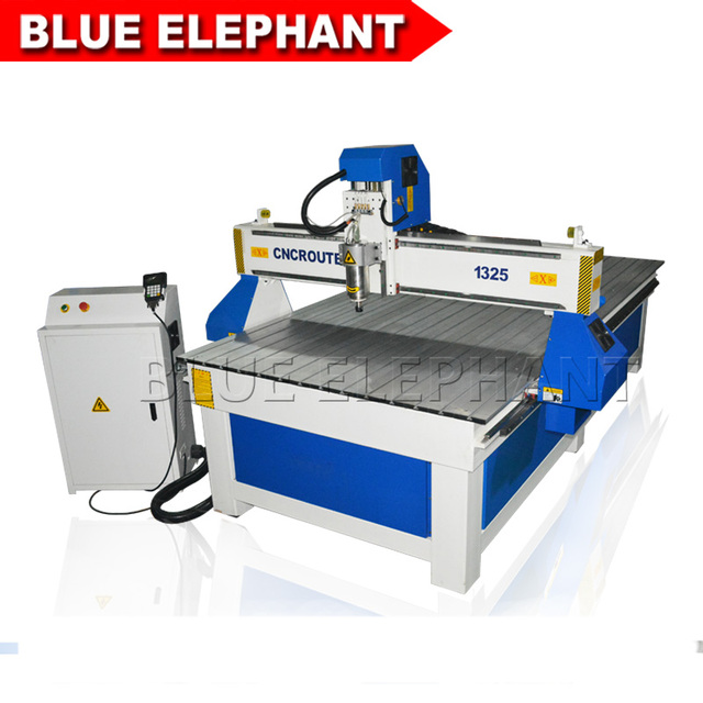 Kerala India Cnc Router 1325 3 Axis Cnc Milling Machine 3kw Water Cooling Spindle T