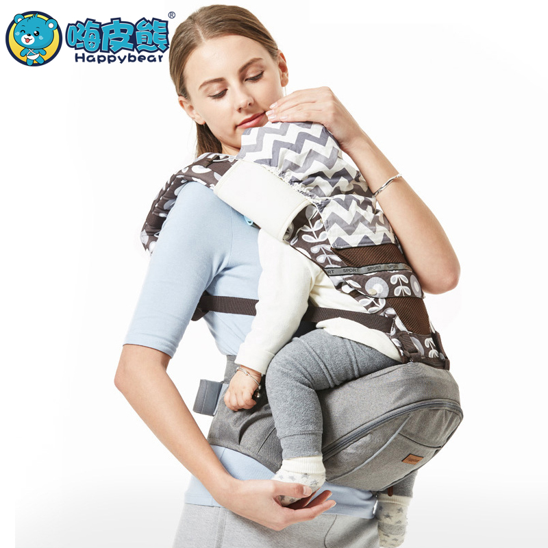 Baby carrier hip seat Top baby Sling baby backpack high grade Baby belt 0-36 Months Multifunction 2018 New Design HappyBear