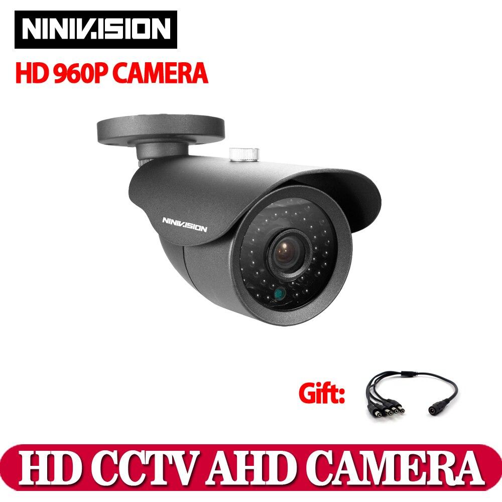 imágenes para Cctv cámara ccd sony sensor ahd cámara 960 p 2500tvl ir-cut filter cubierta impermeable al aire libre 3.6mm de la lente sistema de cámaras de seguridad