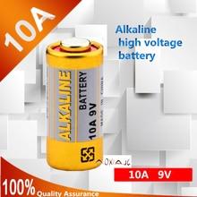 High quality new 4pcs / lot alkaline battery 10A 9V L1022 battery doorbell remote control shutter garage alkaline batteries