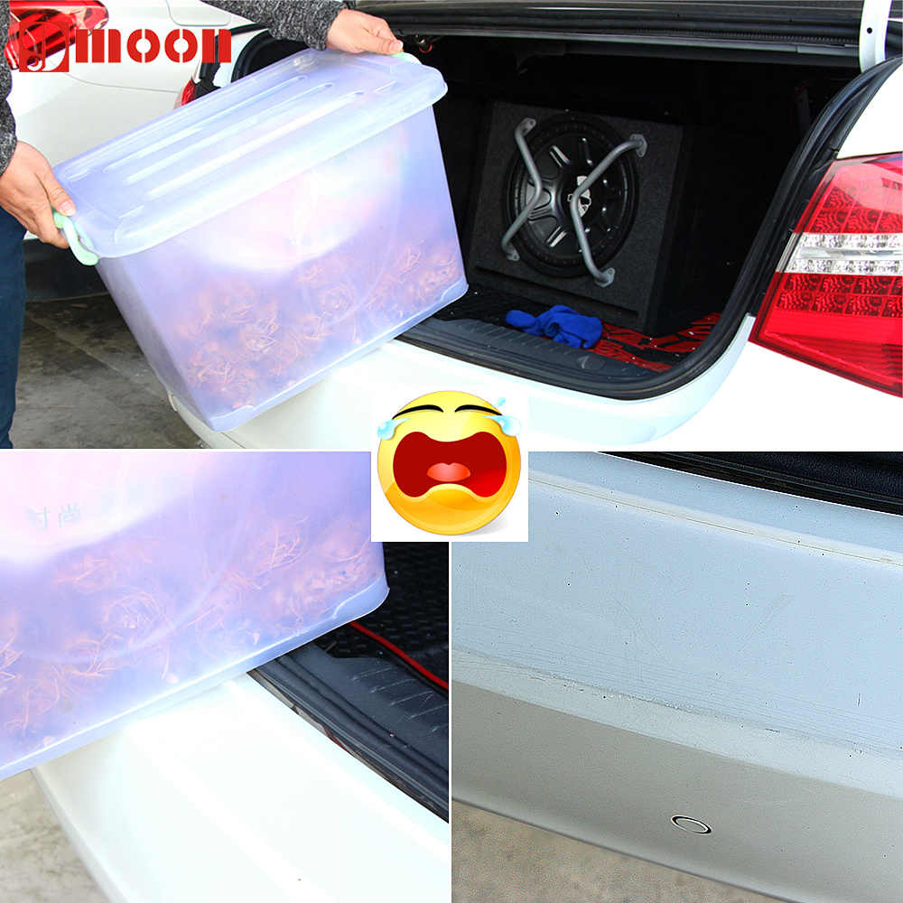 Araba aksesuarları çıkartmalar araba arka tampon Koruma Nissan X-trail için Terrano Qashqai Sentra Altima