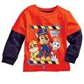 2016 Nuevas Sudaderas hoodies de las muchachas ropa de estilo Más color kids ropa del perro de la historieta tops casual 1 unids