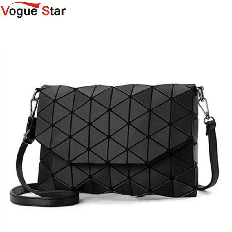 2018 new small solid plaid geometric lingge envelope handbag women clutch ladies purse crossbody messenger shoulder bags LB647