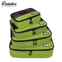 2cd038b26eb3d Nowe Oddychające Torba Podróżna 4 zestaw kostki do pakowania bagaż  Organizatorzy torba weekendowa Torba Na Buty