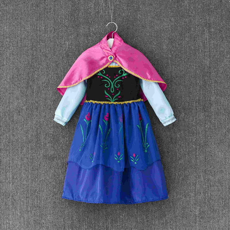 New model Elsa Costume Anna Princess Kids Fancy Party ...: http://www.aliexpress.com/item/New-model-Elsa-Costume-Anna-Princess-Kids-Fancy-Party-Dress-Kids-infant-dresses-high-grade-Princess/32621701001.html#!