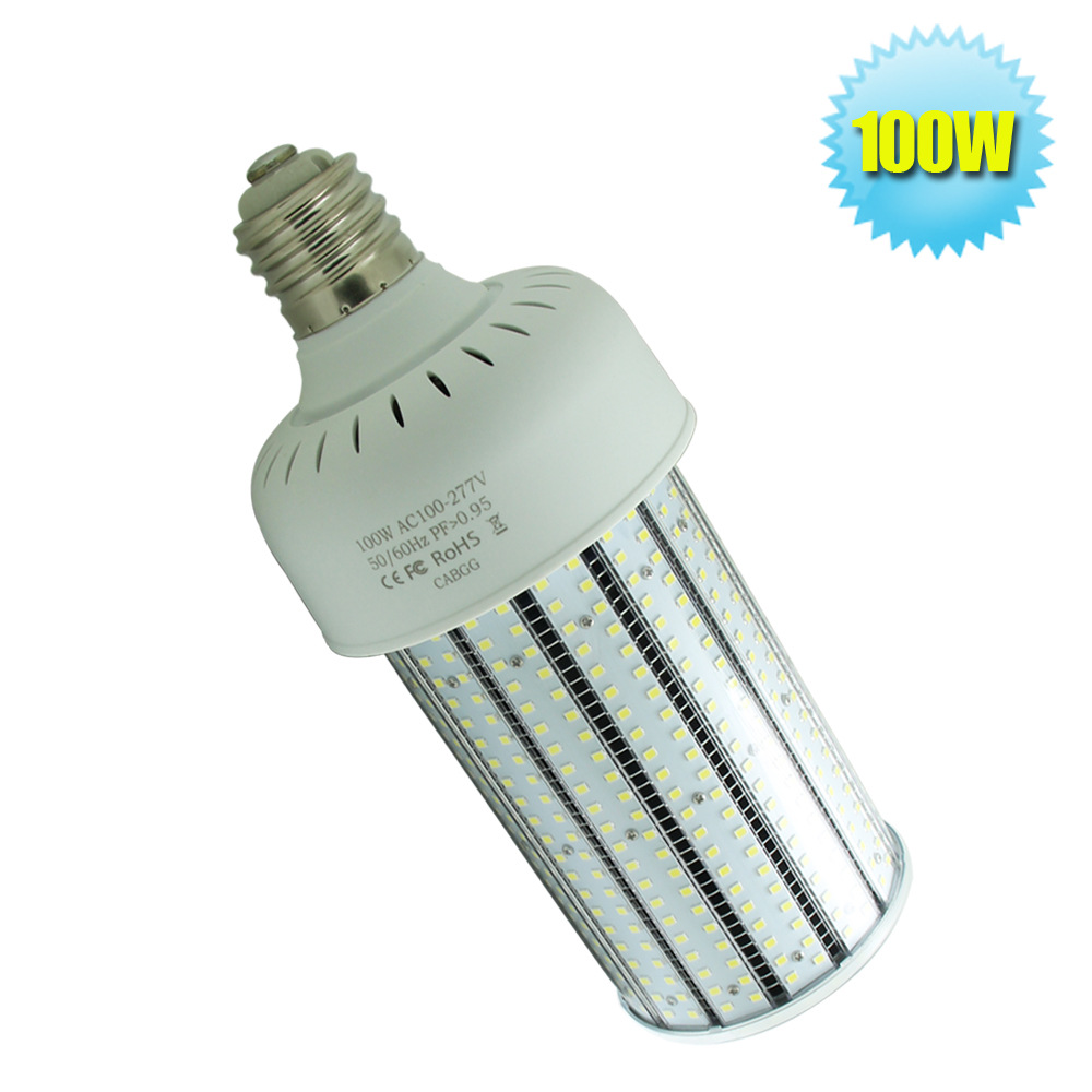 100W led corn lamp E40 E39 mogul base warehouse light 347