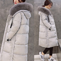 Winter Jacket Women 2015 Natural Fox Fur Collar Fashion Long Parka Duck Down Womens Winter Jackets And Coats