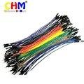 20 pcs 20 cm 2.54mm 1 p-1 p Pin Female to Male Cor Breadboard Cable Ir Fio Jumper Para Arduino # bp1610018