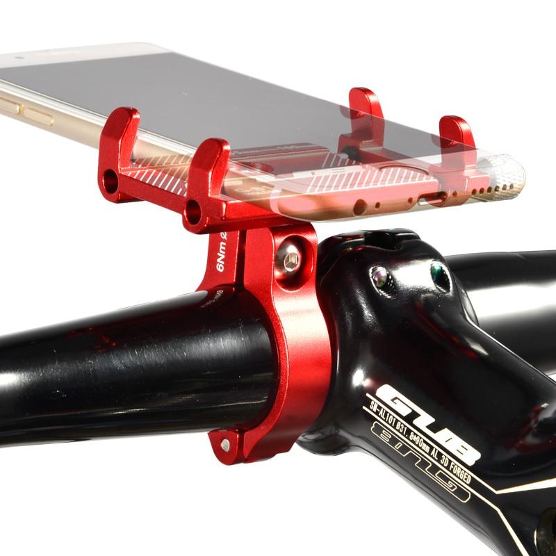 GUB G-81 Aluminium Fahrrad Telefon Halter Für 3,5-6,2 zoll Smartphone Einstellbare Unterstützung GPS Bike Telefon Stand Halterung