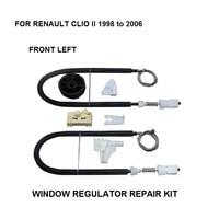 1998 2016 WINDOW REGULATOR COMPLETE CLIP SET RENAULT CLIO II WINDOW REGULATOR REPAIR KIT FRONT LEFT 2/3 DOOR