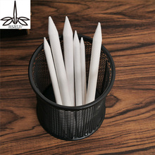 Премиум 6 шт./компл. смешивание палец пень stick tortillon эскиз Книги по искусству белый Рисунок Pen Tool Рисовая бумага