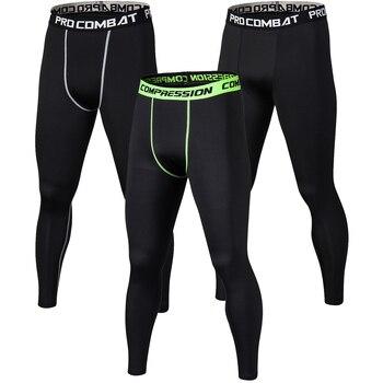 新しい男性圧縮パンツボディービルジョガーズボンスポーツフィットネス速乾性スキニーレギンスメンズピュアカラークロスフィットタイツズボン