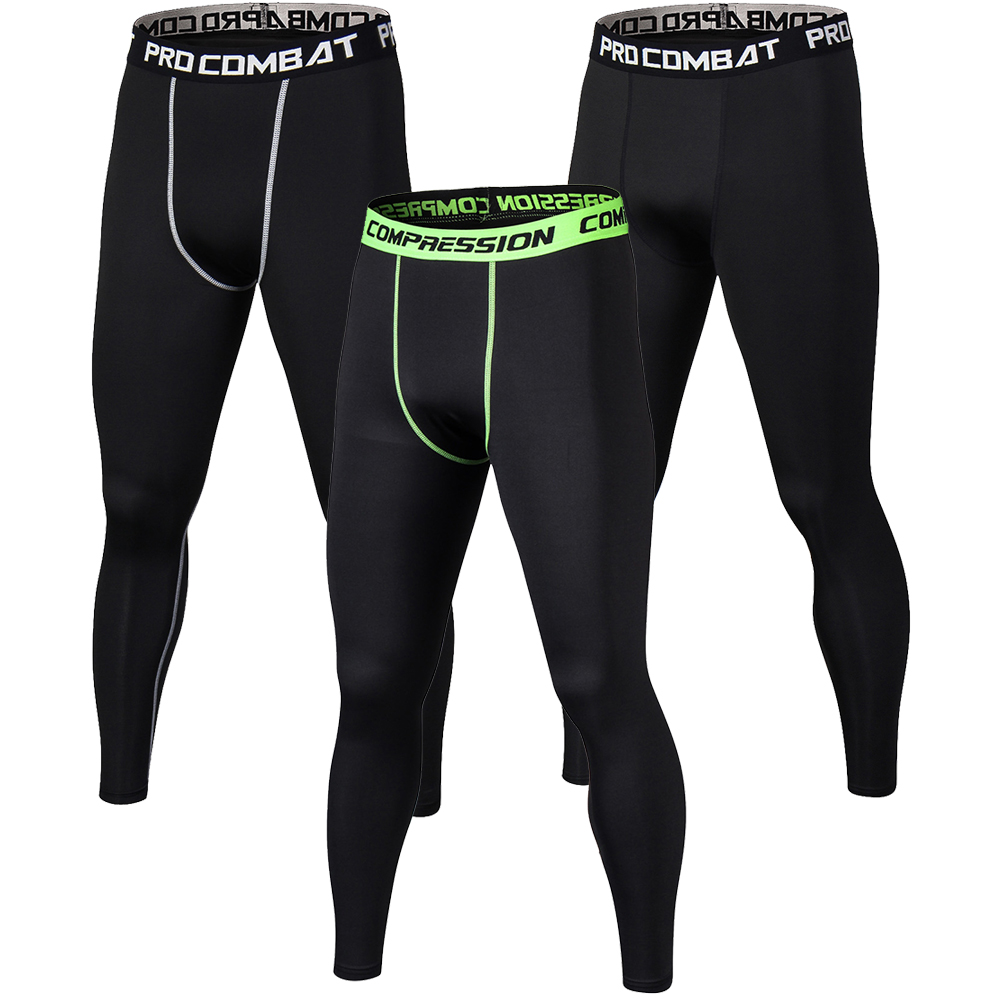 Leggings 2017 Hottest Mens Compression Pants Male Base Layers Bodybuliding Skinny Tights Pants Quickly Dry Anti-bacteria Trousers A Wide Selection Of Colours And Designs Pants