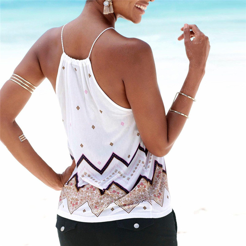 HOT sell Fashion womens tops and blouses summer 2018 Loose Sleeveless Casual Tank T-Shirt Blouse Tops Vest camicette Y17#N (11)