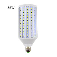 Hot Sale Lampada Led Lamp E40 E27 110V 220v 55W Epistar Smd 5730 176 Led Corn