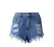 Hot sale 2017 New Fashion women s jeans Summer Mid Waist Denim Shorts Casual women Jeans