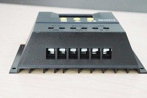 Image 3 - XINPUGUANG 12v 24v 60A ソーラーコントローラソーラーシステム自動レギュレータ充電器コントローラ Lcd ディスプレイ PWM 充電
