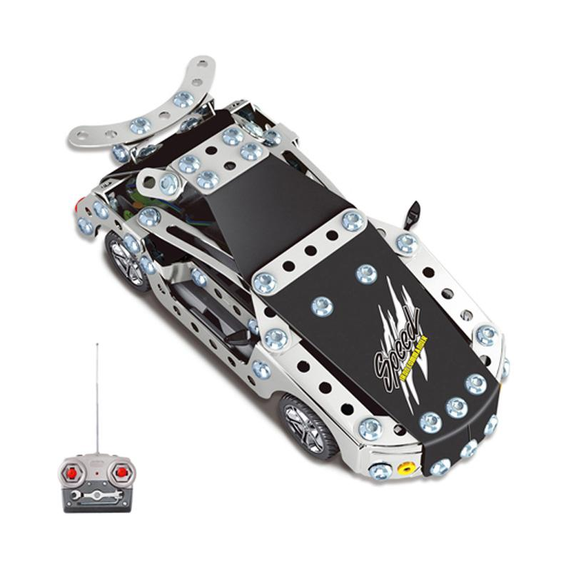 kids toys rc car trailer anime robot auto bricks union building blocks sets toys for children gift rc cars iron