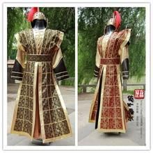 Kostuum Tang Pak Chinese Generaals Armor Armor Soldaten Kleding Thema Kostuum Theater Kleding Stadium Kostuum