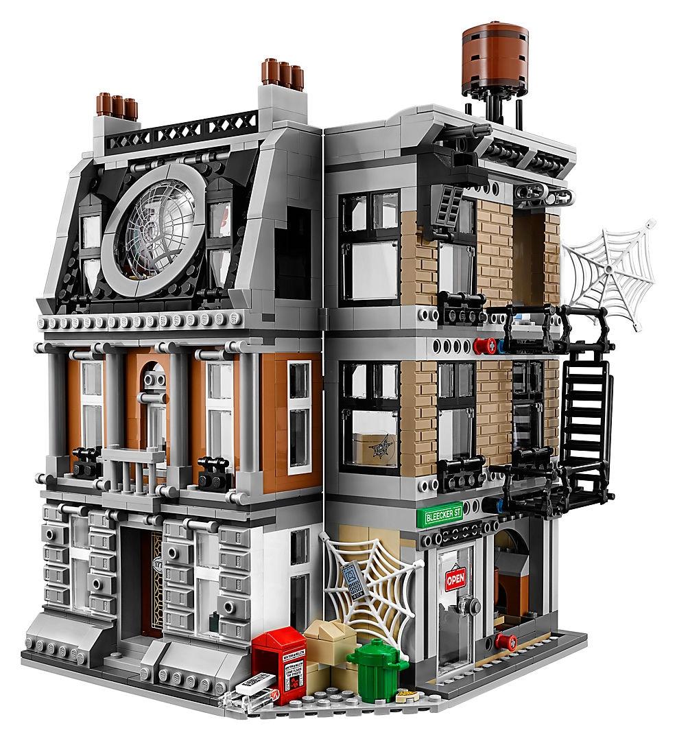 10840 Legoinglys Marvel Avengers Infinity War Sanctum Sanctorum Showdown Iron man Building Block Toys