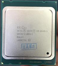 Intel Xeon E5-2640 V2 E5-2640V2 Eight Core CPU LGA2011 Server CPU E5 2640V2 E5 2640 V2 CPU(China)