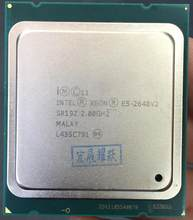 Intel Xeon E5-2640 V2 E5-2640V2 Otto Core CPU LGA2011 CPU del Server E5 2640V2 E5 2640 V2 CPU(China)