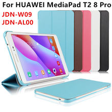 PU Leather Case For Huawei MediaPad T2 8 Pro Smart cover Protector For HUAWEI Honor Tablet 2 JDN-W09 JDN-AL00 Case Protective