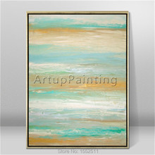 Modern abstract beautiful Colour oil painting Hand painted canvas the sitting room decorative 8