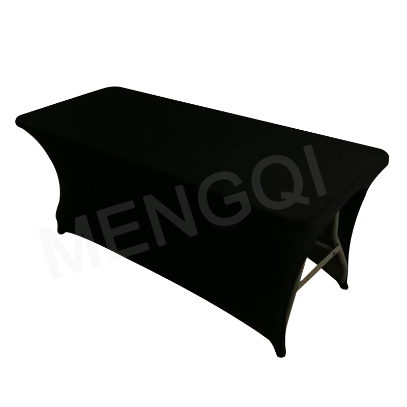 6ft 183x76x76cm Black White Side Face Arched Stretch Table Cloth Salon SPA Tablecloth Massage Treatment Bed