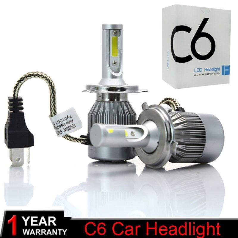Super Bright  Car Lights Bulbs LED H4 H7 9003 HB2 H11 LED H1 H3 H8 H9 880 9005 9006 H13 9004 9007 Auto Headlights Led Lamps