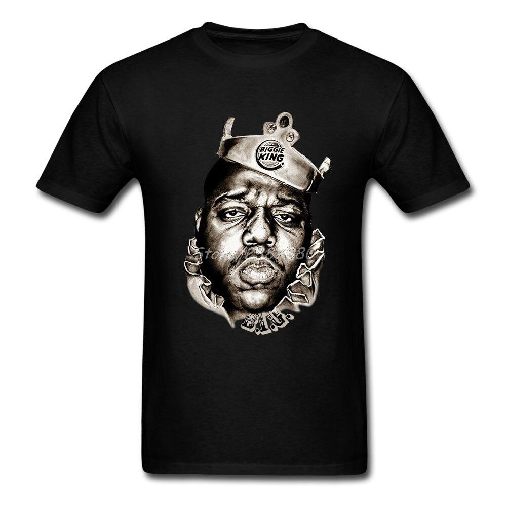 Le Notorious Big T Shirt Coton Ras Du Cou À Manches Courtes Rappeur Biggie Roi T-shirts Nouveau Style Kpop XXXL Hommes T-shirt