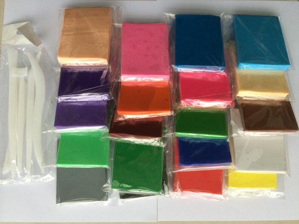 Set D 20PC / lot + Tool 20 verschillende kleuren. 80g verpakking - Leren en onderwijs