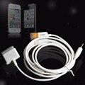 3.5mm de áudio aux carro usb doca cabo para iphone 3gs 4 ipod touch ipad2 fc