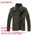 Homens jaqueta jeans lavagem do soldado do exército militar plus size 6xl algodão air force one masculino clothing primavera outono mens jaquetas