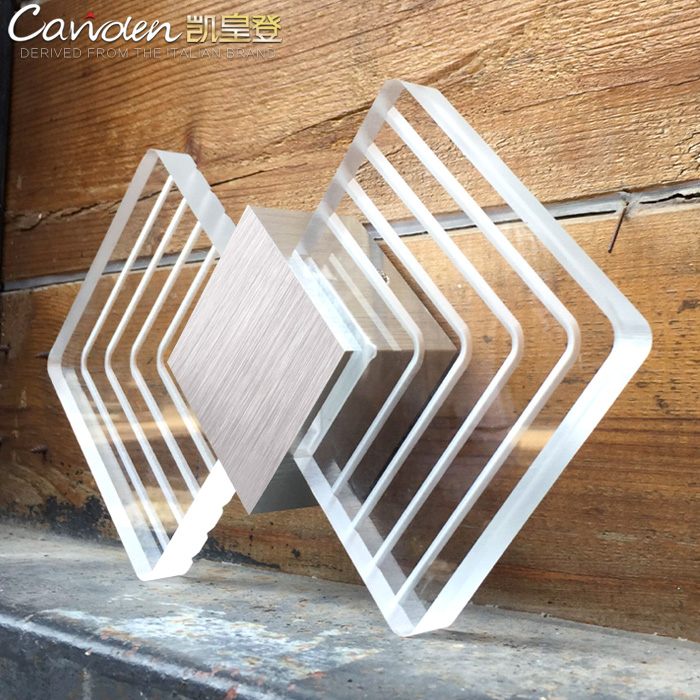modern 6W LED wall Sconce Study lights Led abajur Bathroom lights work Acrylic Led wall Lamp Bedroom indoor mirror led lampara new design nature white 2heads 6w 30cm led modern crystal wall lights lamp sconce factory wholesale led lightings