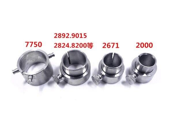 купить Free Shipping 4pcs ETA 2824/2892 Movement Holders/Watch Repair Tool Setting Hands & Checking Chronograph по цене 1530.86 рублей