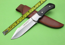 fixed blade wooden small hunting knife tactical knife outdoor hunting camping knife tool knife gift free shipping